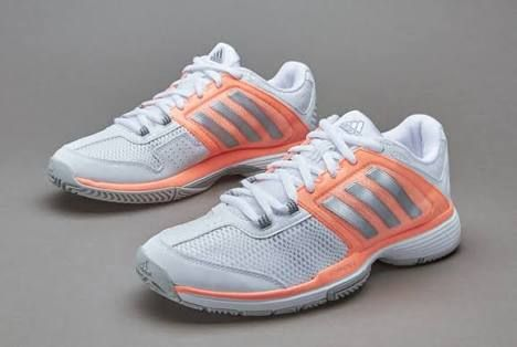 Image result for adidas Barricade Club White/Pink Women's Shoes