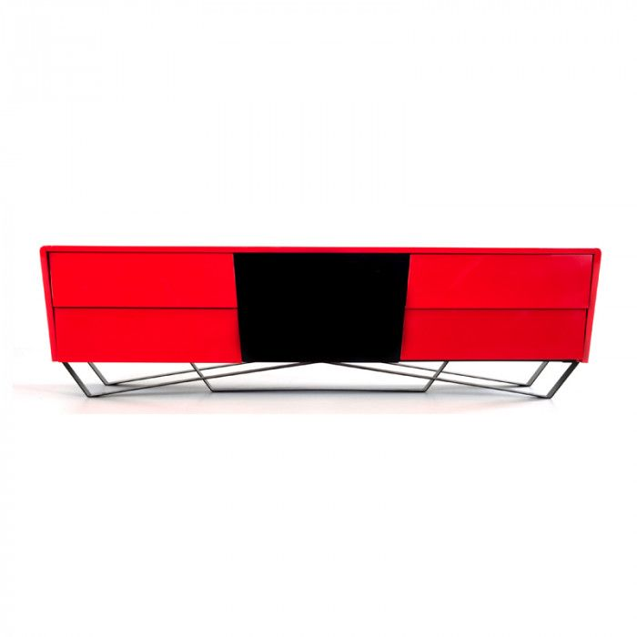 Vgwctv G02 Red Functional Art The Max Smart Tv Unit Is An