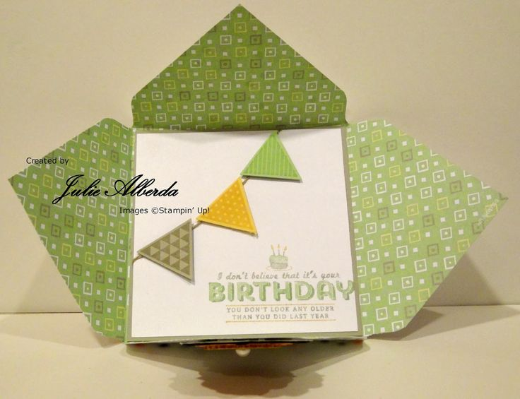 Julie's Stamping Station: I Love the Envelope Punch Board!