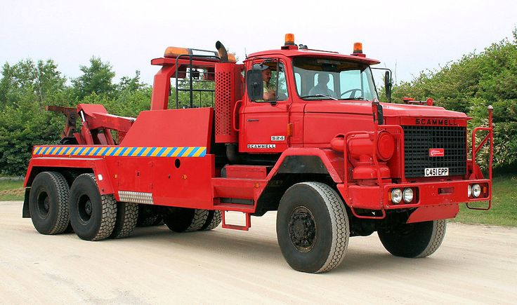 Scammell S24 for Birmingham public works