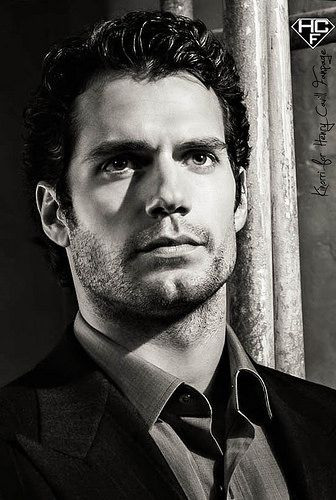 Henry Cavill....The muse for Nicholas Gunn in Power Of The Gunn by T.L. Hill. The author uses him down to the bit of brown in his blue eyes. Easy to visualize him in this D/s romance novel.