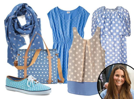 Kate Middleton's polka-dot dress... here's more #fashion must-haves in the playful pattern!