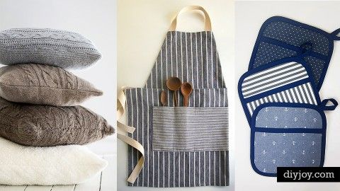 72 Crafty Sewing Projects for the Home | DIY Joy Projects and Crafts Ideas