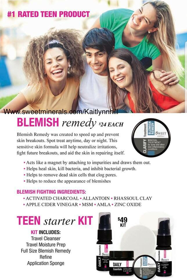 Sweet Minerals Blemish Remedy Can Be Use As A Spot Treatment Day
