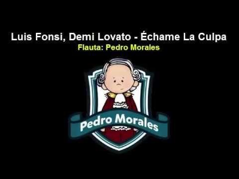 Échame La Culpa - Luis Fonsi, Demi Lovato Flauta Dulce (Notas)¡Completa! HD