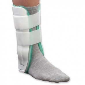 Air Light Ankle Regular | Core Products. Air Light Ankle Regular  Air Light Ankle Regular from PRO2 Medical features a rigid contoured shell. The Air Light Ankle Brace can provide the immobilization required for sprains, fractures and chronic instability and helps accelerate rehabilitation. The Air Light Ankle Brace includes an Inflatable air bladder, creating compression, and helping to enhance circulation and reduce swelling. Medical grade, perforated brushed tricot lining allows...