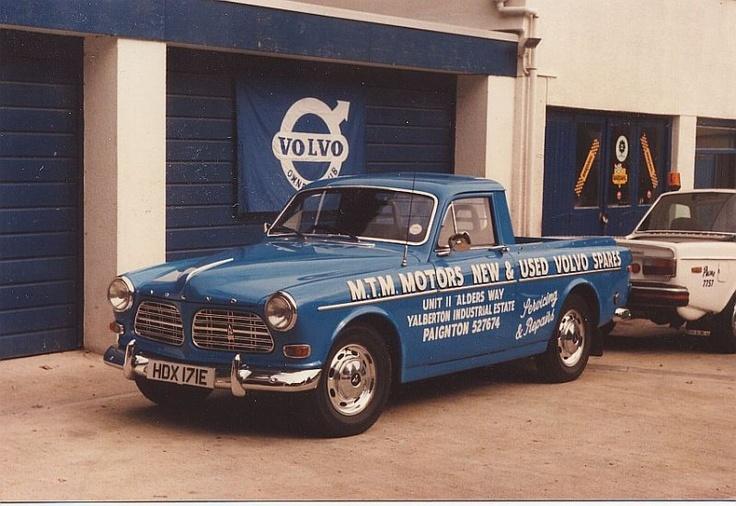 Volvo Amazon Pickup