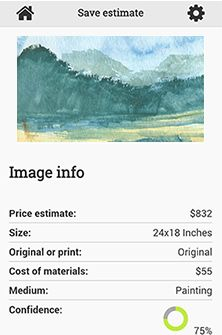 Art Price Calculator - Get your art's value easy and free