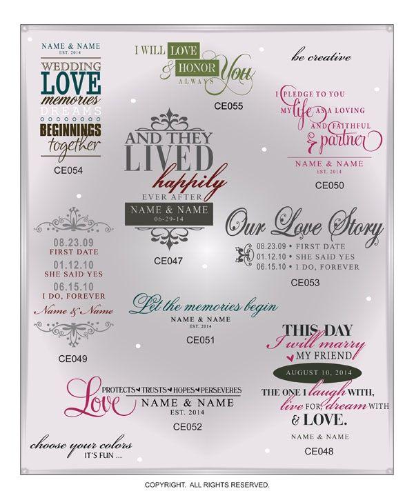 DIGITAL DOWNLOAD ... in AI, EPS, GSD, & SVG formats @ My Vinyl Designer #weddinggraphics