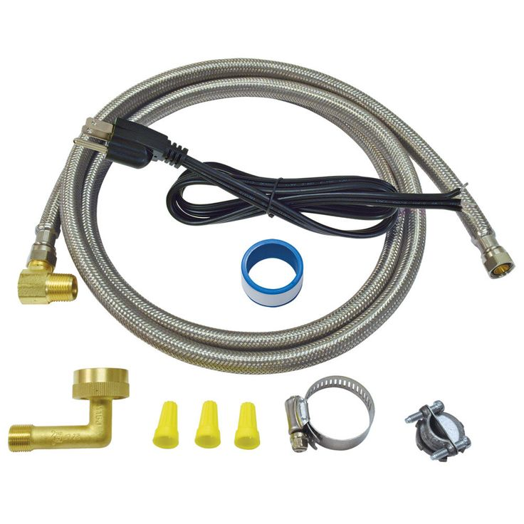 6 ft. Eastman Dishwasher Installation Kit with Straight ...