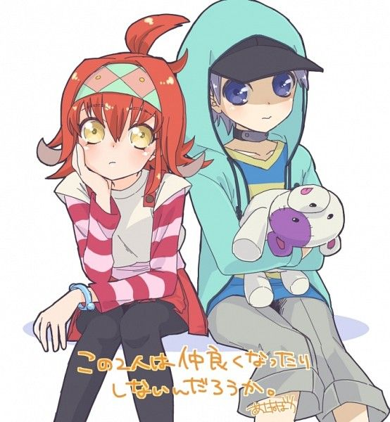 Ayu ayukawa and Reira Akaba 🐠 Yugioh Arc-v