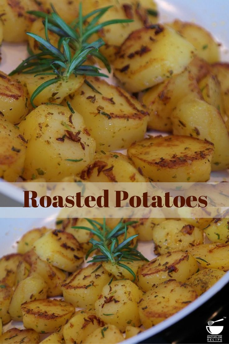 Make this roasted #potatoes with your favourite seasoning. Check out an amazing #recipe by @Madhavilatha Jonnadula #BachelorRecipe #easyrecipes #bachelorrecipeapp #RecipeOfTheDay #potatorecipes #easy #baked