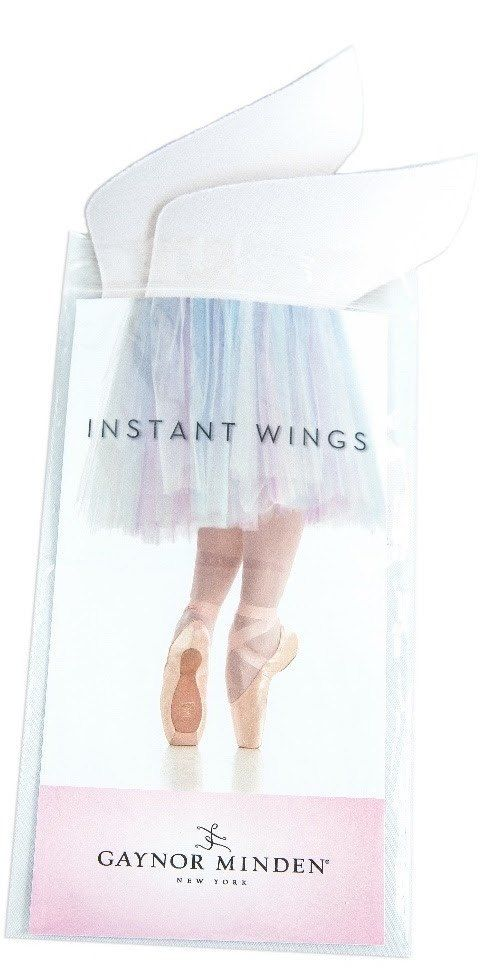 """Enjoy the extra security and comfort of a """"winged"""" toe box (without the expense or delay or a special order.) Firm, resilient Instant Wings™ provide cushioned support — just where you need it. Easy to"""