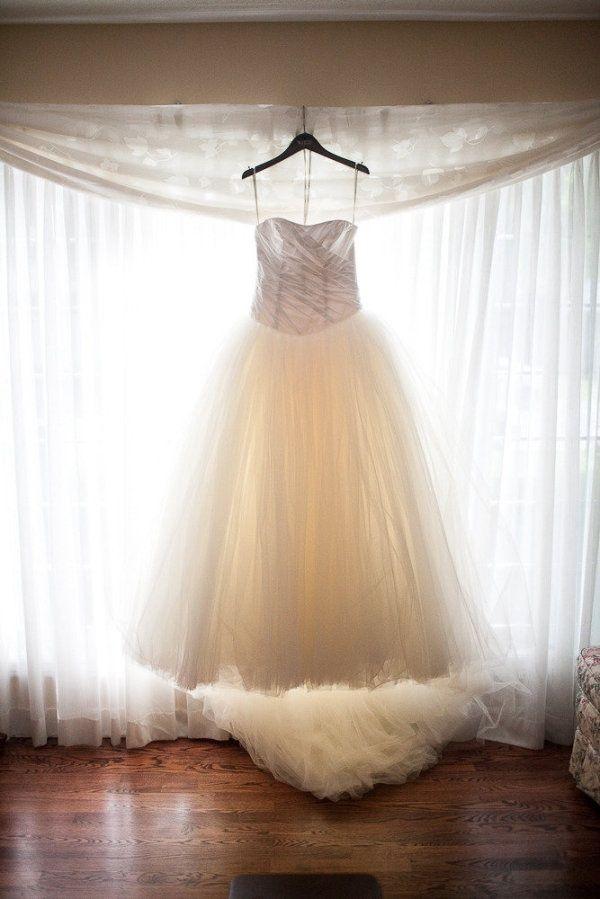 Tote on the turf wedding dresses