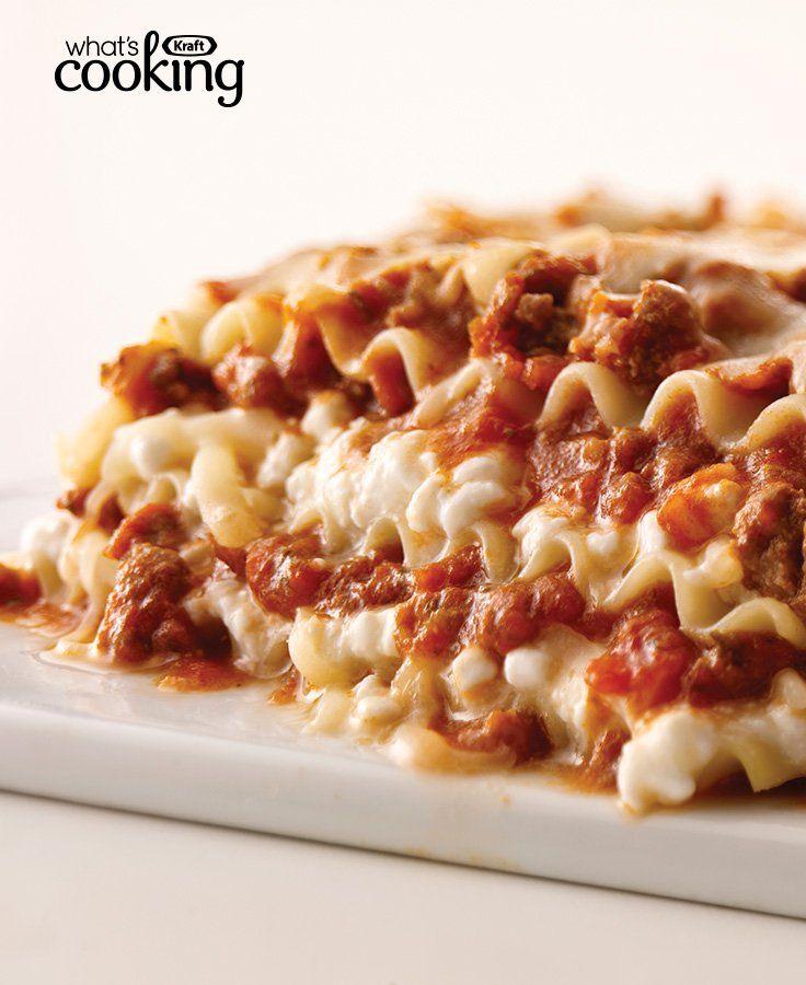 KRAFT Classic Lasagna #recipe