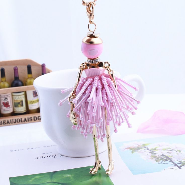 Find More Pendant Necklaces Information about Wholesale 2016 Women French Paris Girl Doll Pendant Necklace Cute Bead Dress Handmade Doll Crystal Necklace Fashion Jewelry Gift,High Quality gift for female friend,China gifts for fifth wedding anniversary Suppliers, Cheap jewelry gift boxes free shipping from Beauty life-wholesale on Aliexpress.com