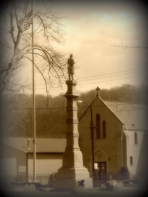 Bellaire Ohio 2010 039 sepia by WillynWV, via Flickr