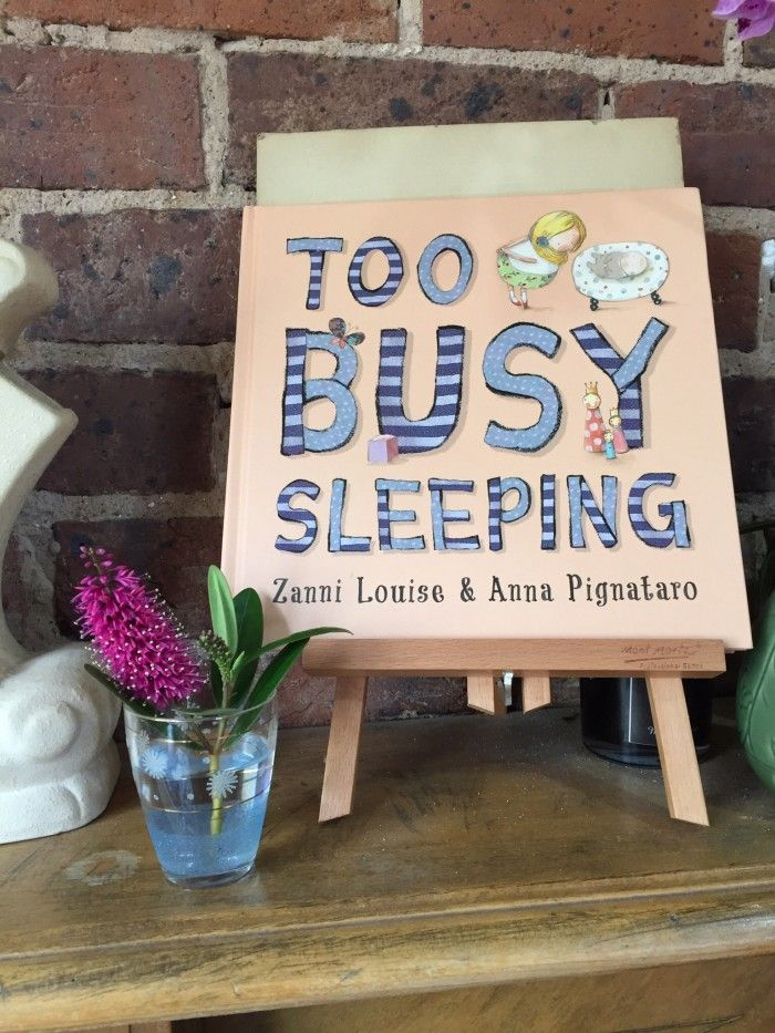 Too Busy Sleeping review and interview with Zanni Louise on Sand Has No Home