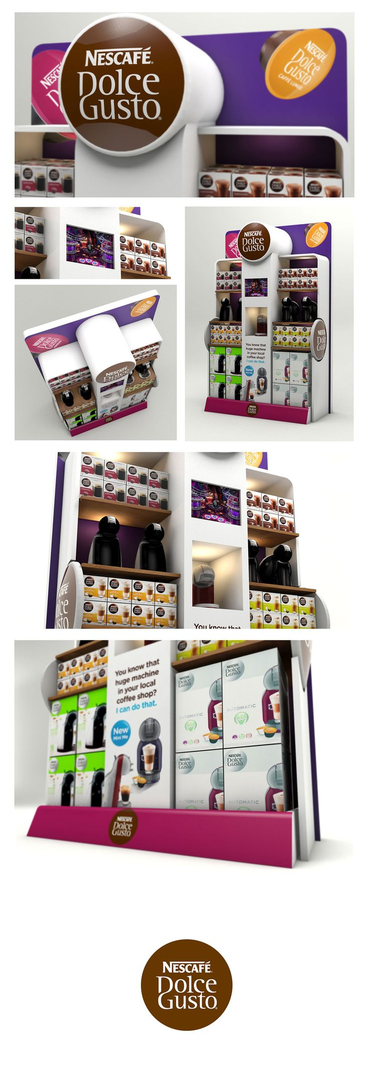 Posm design sofy posm design - Dolce Gusto Retail Display By Neil Colley