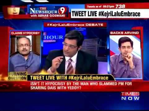 Have You Seen Arnab Goswami's Alter Ego Speaking? - http://viralvibes.net/have-you-seen-arnab-goswamis-alter-ego-speaking