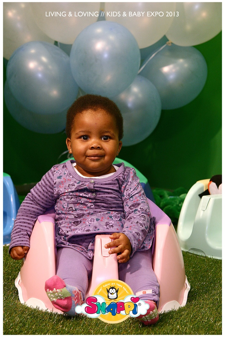 The Snappi Baby Chair! Comfortable, lightweight, portable and convenient.