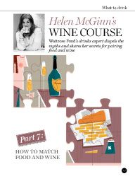 Waitrose Food October 2015: Helen McGinn's wine course