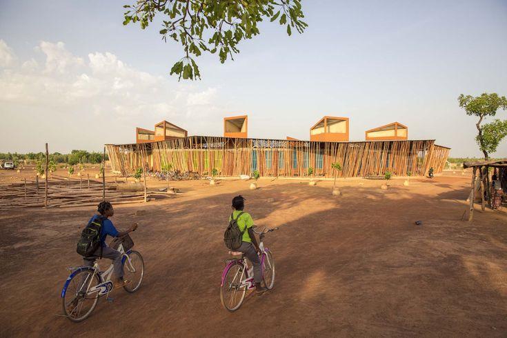 Francis Kéré's Lycée Schorge Secondary School in Koudougou, Burkina Faso