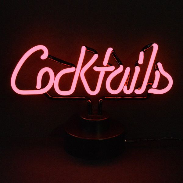 """Shine brighter with our Neon Sculptures! Each of our stand up Neon Lights will fill your home or business with a fun and stylish flare. - Dimensions: 15"""" Wide x 11"""" Tall x 6"""" Deep - All you do is plug"""