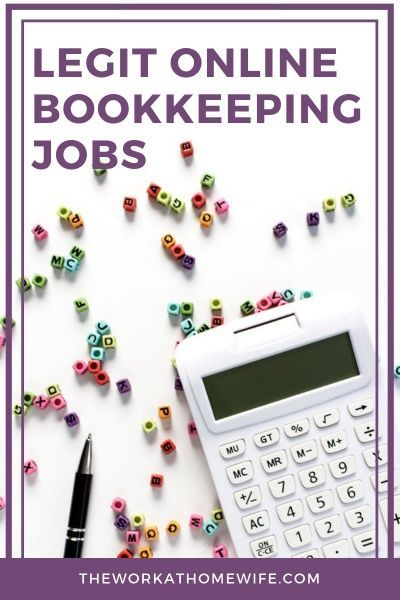 Online Bookkeeping Jobs: Who Hires Bookkeepers From Home?