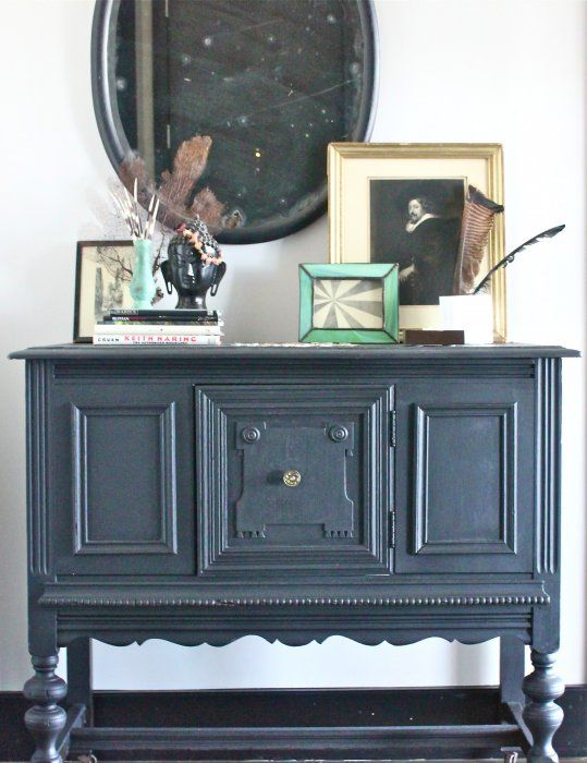 Black Beauty Foyers Traditional And Chalk Paint