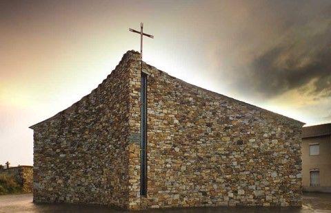 iglesia de Pumarejo de Tera. Miguel Fisac. 1985
