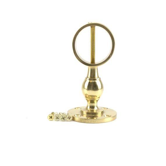 Best 32Mm Polished Brass Handrail Brackets Decking Rope 400 x 300