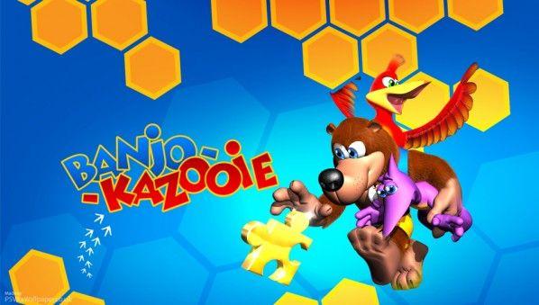 Banjo Kazooie PS Vita Wallpaper