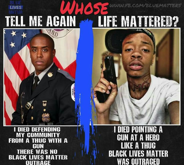WHOSE LIFE MATTERS ???