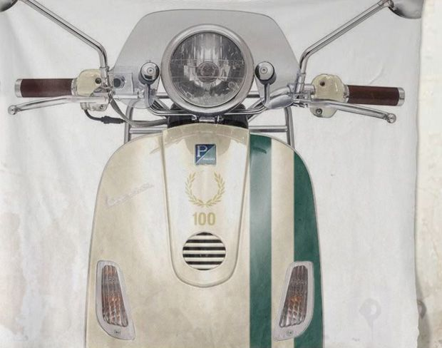 Fred Perry 100th Anniversary Vespa Scooter   Hypebeast