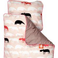 DONE BY DEER Beddengoed Baby Zoopreme, roze