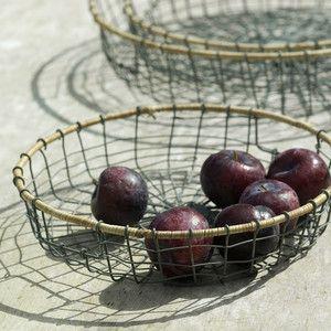 Bahima Tray Wicker Medium Grey, 24€, by Nkuku, fairly-traded and economically sustainable !!