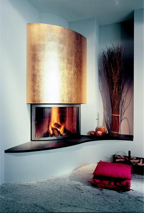Caminetti moderni in marmo, acciaio cartongesso per essere protagonisti del vostro soggiorno