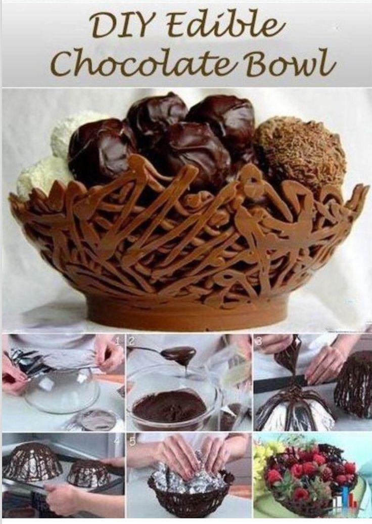 10 modi per riutilizzare il cioccolato! http://www.greenme.it/mangiare/cucina/13140-cioccolato-riutilizzarlo-originale