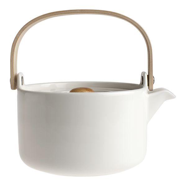 Marimekko Oiva White Teapot