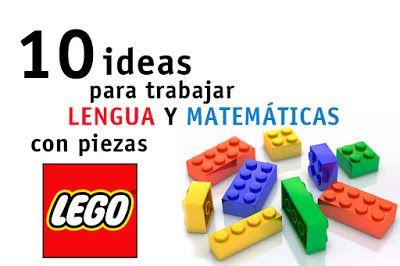 CLUB DE IDEAS | 10 ideas para trabajar matemáticas y lengua con piezas lego…