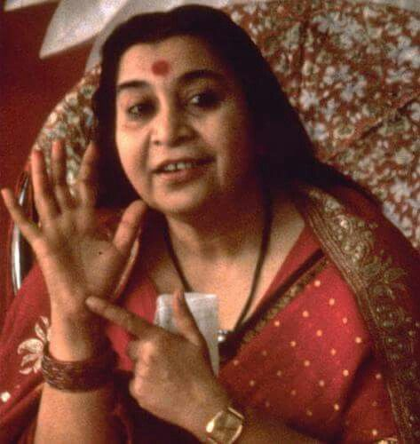 H.H. Shri Mataji Nirmala Devi  The Founder of Unique Meditation called as Sahaja Yoga.