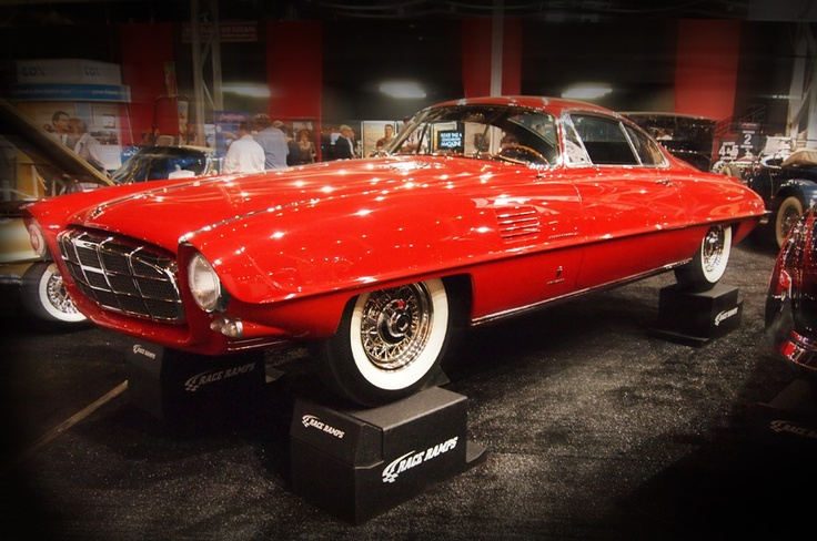 1954 DeSoto Adventurer II Coupe by Ghia. Snapped today at ...