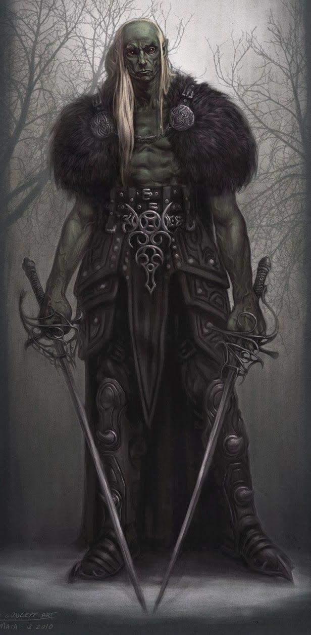Orc Alfa... Imortal. O único sobrevivente de uma geração de elfos torturados pela Sombra até o ponto de se tornarem algo diferente.