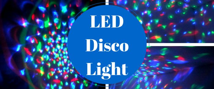 I love my LED disco light bulb. It is good for DJs, dance parties, roller and ice rinks, and even just a fun light in a teen's room.