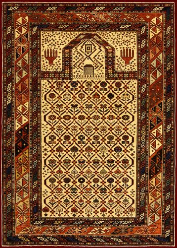 Traditional turkish rug in wool (handmade: hand knotted) - 141125052098 - ArchiExpo