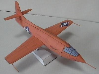 Bell X-1 Supersonic Aircraft Paper Model - by Mamecraft - The Bell X-1, originally designated XS-1, was a joint NACA-U.S. Army/US Air Force supersonic research project built by Bell Aircraft. Conceived in 1944 and designed and built over 1945, it eventually reached nearly... read more and download this model at papermau!
