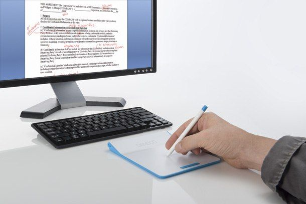 ワコムBamboo Pad発表、タッチと筆圧感知スタイラス対応のPC向け入力機器 - Engadget Japanese