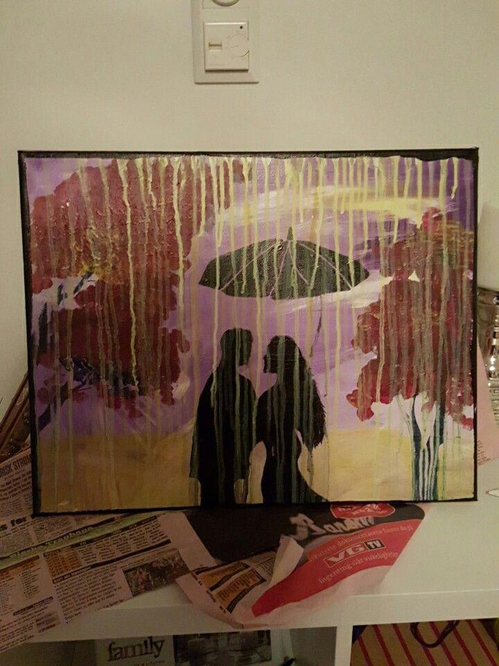 Rain pepoles