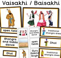 Vaisakhi / Baisakhi teaching resources to download. There are flashcards, matching cards, posters, display word and Sikhism themed display lettering which has been made available on a Word document, to enable you to re-size if required and cut & paste onto a second (new) Word document.